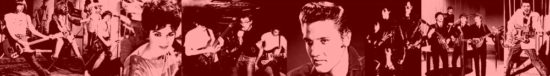 Their influences: Elvis Presley, Connie Francis, Eddie Cochran, the Beatles, the Ramones, the Misfits, the Descendents