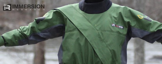 Photo: Spencer Cooke, Effort Inc - Arch Rival Drysuit - Front Zipper Entry
