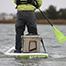 Thumbnail image for Badfish Badfisher Inflatable Fishing SUP Board Hook Line & Paddle Wilmington NC Coast Paddleboard